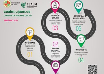 Information, placement test & registration language courses in CEALM